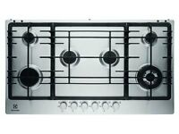 NEW - Electrolux EGG9363NOX S/Steel Built in 6 Burner Gas Hob - BARGAIN PRICE £225