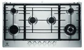 BRAND NEW - Electrolux EGG9363NOX S/Steel Built in 6 Burner Gas Hob - BARGAIN PRICE £190