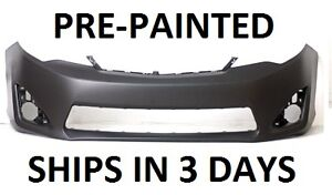 new painted to match front bumper for 2012 2013 toyota. Black Bedroom Furniture Sets. Home Design Ideas