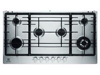 NEW - Electrolux EGG9363NOX S/Steel Built in 6 Burner Gas Hob - BARGAIN PRICE £200