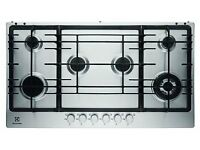 Brand NEW - Electrolux EGG9363NOX S/Steel Built in 6 Burner Gas Hob - BARGAIN PRICE £75
