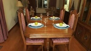 DIY - 6 - Chair Dining Set - Solid Wood
