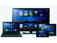 Fully loaded installations for all android, firesicks and boxes, pc's and laptops