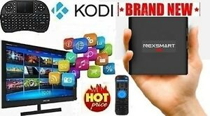 FULLY LOADED★ NO monthly FEES★4K TV BOX + Wireless MINI Keyboard