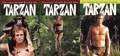 Tarzan Complete 1967 TV Series DVD Set Season 1 2 TV Show Episode Lot Ron Ely R1