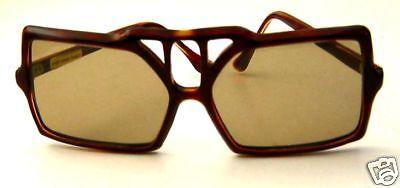 Rare Vintage Faux Tortoise PAULATTE GUINET Sunglasses FRENCH 1950's HANDMADE