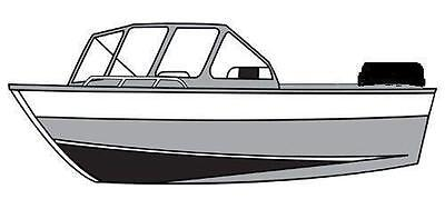 7oz STYLED TO FIT BOAT COVER HEWESCRAFT-WEST COAST 200 SEARUNNER O/B 2007-2014