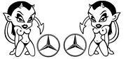 Mercedes Aufkleber LKW