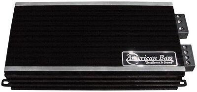 American Bass Ph2500md 2500W Max Class D Amplifier Phantom Micro Technology