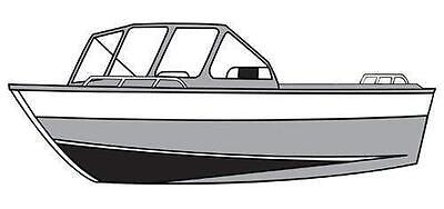 7oz STYLED TO FIT BOAT COVER HARBERCRAFT EXTREME SHALLOW 2475 2008