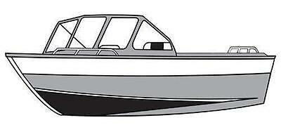7oz STYLED TO FIT BOAT COVER HARBERCRAFT FASTWATER 2275 2007-2008