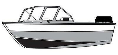 7oz STYLED TO FIT BOAT COVER HEWESCRAFT-WEST COAST 200 SPORTSMAN O/B 2007-2009