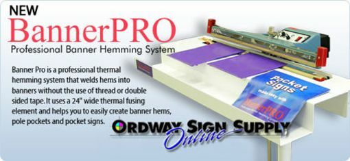 BannerPro Vinyl Banner Hemming Welding Welder System Banner Pro