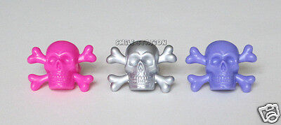 12 Skull & Crossbone Cup Cake Rings Monster High Pirate Party Bag Favor Supply