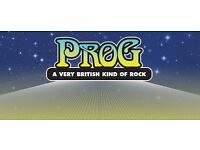 >> Progressive rock? ..I looking for synthesizer player, Moog player in Bristol