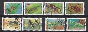 """Insectes bulgarie 3 séries complètes de 8 timbres oblitérés - France - Commentaires du vendeur : """"séries compltes"""" - France"""