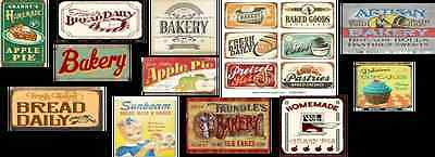 n scale bakery shop building decals
