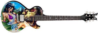 Dean Guitarras Leslie West Mississippi Queen Guitarra Eléctrica