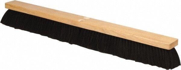 """PRO-SOURCE 30"""" General Purpose Horsehair Push Broom 3"""" Bristle Length, Wood B..."""