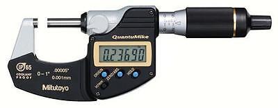 Mitutoyo 293-185-30 Quantumike Digimatic Micrometer 0-10-25mm Range