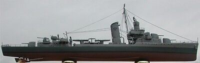 1/350 USS Russell  DD414 (Sims Class) Destroyer Complete Resin & PE   Model Kit