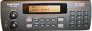 Scanner Police de Base Pro 2052 1000 canaux programmables