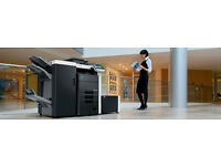 Professional Printer - Konica Minolta Bizhub C652 refurbished system with booklet maker