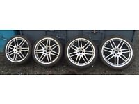"""19"""" Audi Rs4 reps with tyres"""
