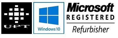 "Dell Desktop PC Computer Dual Core 4GB RAM DUAL 19"" LCD Monitor WiFi Windows 10"