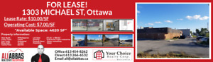 STUNNING INDUSTRIAL FOR LEASE!