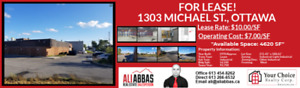STUNNING WAREHOUSE FOR LEASE!