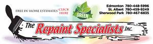 ~The Repaint Specialists Inc.~ Edmonton Edmonton Area image 1