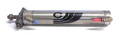 Crisplant Brand Air Cylinder 180a865 34 Bore 6 Stroke Ss Threaded Rod End