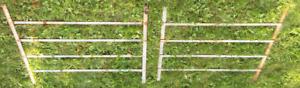 Barreaux en métal pour porte ou fenetre (grillage de sécurité)