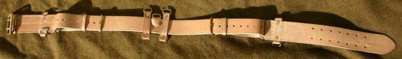Canadian 1916 Pattern Oliver Leather Equipment Belt
