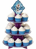 Disney Frozen Cupcake Stand and Table Decorating Kit