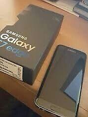 New Samsung S7 Edge Black 32gb