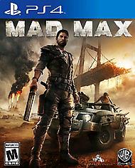 Mad max , Batman arkham knight cod black ops 3 and mgs 5 ps4