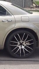 22 inch giovanna rims fits dodge chrysler chevy buick etc