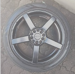 4x PDW Black 17 inch wheels (trades ok) Rhodes Canada Bay Area Preview