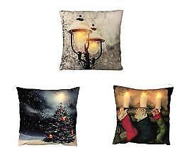 GREAT DEAL!! Christmas LED Light up Cushions