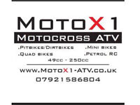 MotoX1 huge sale on all our stock this Christmas
