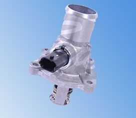 FOR ASTRA H VECTRA C ZAFIRA B 1.6 1.8 COOLING COOLANT THERMOSTAT + SENSOR