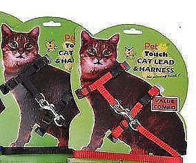 Nylon Cat Harness and Lead  2x Homebush West Strathfield Area Preview