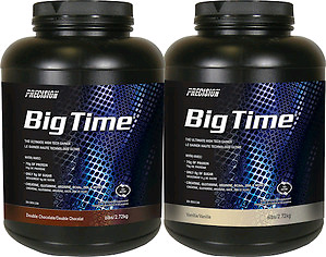 Precision Big Time Gainer Protein Powder-Vanilla