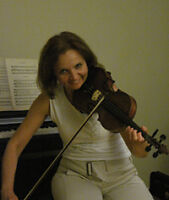 violin and theory of music