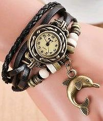 New- Retro Bracelet Style Charm, Beaded & Braided Bracelet Watch Sarnia Sarnia Area image 7