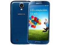 Samsung Galaxy S4-16GB Blue(Unlocked) in good condition