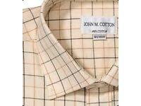 Mens shirt John M Cotton size 16 new