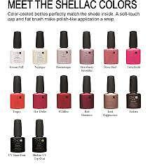 CND Shellac UV Color Coat - Gel Nail Polish - BRAND NEW GENUINE West Island Greater Montréal image 2